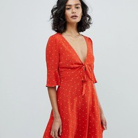 Free People All Yours Spot Mini Dress at asos.com