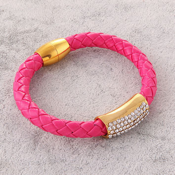 Awesome Great Deal New Arrival Shiny Gift Stylish Diamonds Bangle Bracelet [9664562063]