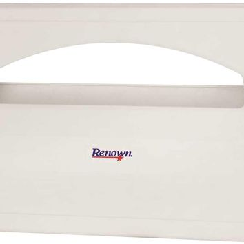 Renown® Plastic Toilet Seat Cover Dispenser, White