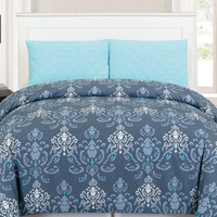 Duck River Lucienda Duvet Cover Set - Grey -