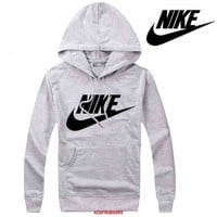 Nike Women Men Casual Long Sleeve Top Sweater Hoodie Pullover Sweatshirt-6