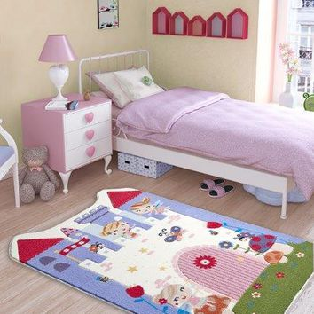 "Fairy Theme Healty Baby Rugs Antdecor Carpets Floor Mats 3'x 5' 39""x 59"" 100x150 cm"
