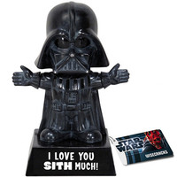 I LOVE YOU SITH MUCH DARTH VADER BOBBLE HEAD by Funko