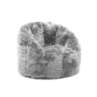 Big Joe Grey Shag Milano Chair