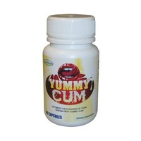 Yummy Cum Semen Flavor Enhancer - 1 Bottle - 60 Capsules - Improve the Taste of Your Semen