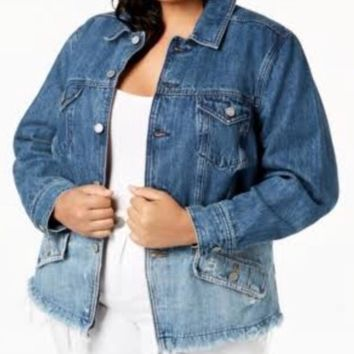 Lucky Brand Washed Denim Jacket
