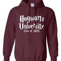 Hogwarts University Class of 2015 Hoodie Hogwarts Potter Fan Hoodie harry potter fan