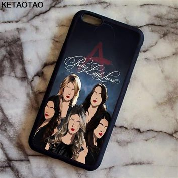 KETAOTAO Pretty Little Liars TV Phone Cases for iPhone 4S 5C 5S 6S 7 8 Plus X for Samsung S8 NOTE Case Soft TPU Rubber Silicone