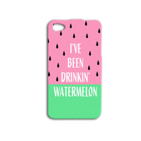 Watermelon iPhone Case Funny iPod Case Beyonce Phone Case Cute Pink Fruit Case iPhone 4 iPhone 5 iPhone 4s iPhone 5s iPod 4 iPod 5 Cover