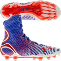 Under Armour Men's Highlight MC Alter Ego Captain America Football Cleat
