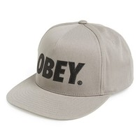 Men's Obey 'The City' Snapback Baseball Cap