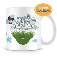 Bob Ross - Happy Little Clouds Mug