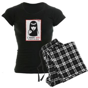 I Want You Women's Dark Pajamas> I Want You> OFFICIAL Emily the Strange