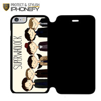 Superwholock 2 iPhone 6 Flip Case|iPhonefy