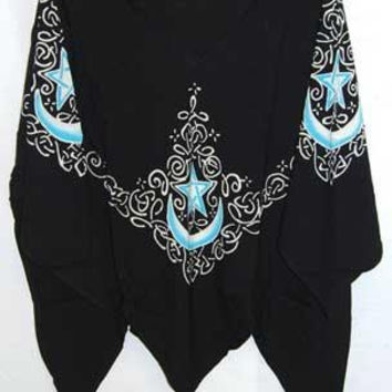 Celtic Moon Black Top