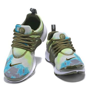NIKE PRESTO Camouflage net cloth Gym shoes-2
