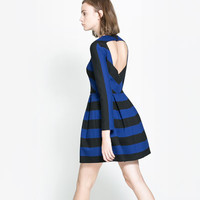 OPEN - BACK DRESS - TRF - New this week | ZARA United States