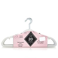 Plastic Hangers Pack of 20 611231732