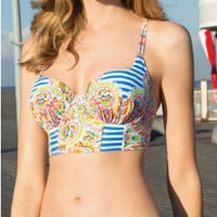 Print Push Up Bikini
