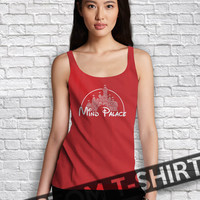 Mind Palace Sherlock Holmes Disney Quote Women Tanktop - Lzi Tanktop For Men  / Custom - Tanktop / Men Tanktop