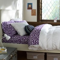 Ruched Duvet Cover & Sham