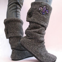 Sweater Boots!! | How To | Cut Out + Keep