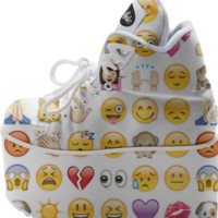 emoji platform shoes created by GossipRag | Print All Over Me