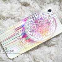 BMTH Sempiternal in rainbow watercolor drop iPhone Case and Samsung Galaxy Case