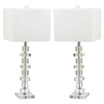 Safavieh Prita Table Lamp (Set Of 2) : Target