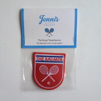 Wes Anderson The Royal Tenenbaums The Baumer iron-on fan patch