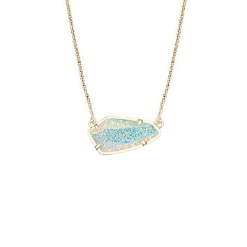 Cami Necklace in Aqua Kyocera Opal - Kendra Scott Jewelry