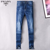 Prada Fashion Casual Pants Trousers Jeans-1