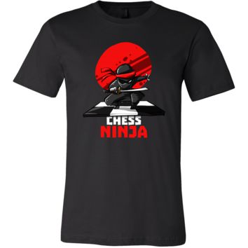 Chess Ninja, Retro Mind Game T-Shirt