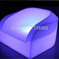 Rechargealbe DOWN led luminous furniture led waterproof armchair sofa decorating your living room,bedrooms, garden,bar,terrace