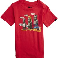 QUIKSILVER TODDLER EASTER ISLAND SS TEE