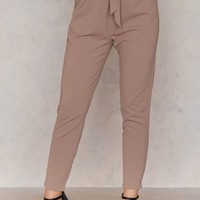 High Waist London Pants
