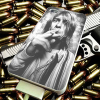 Kurt Cobain Smoke for iPhone 4/4s/5/5s/5c/6/6 Plus Case, Samsung Galaxy S3/S4/S5/Note 3/4 Case, iPod 4/5 Case, HtC One M7 M8 and Nexus Case ***
