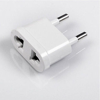 1/2/5X Travel Charger Wall AC Power Plug Adapter Converter US USA to EU Europe 3
