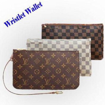 ONETOW LV Fashion Women Louis Vuitton Two piece And Key pouch-Coin purse