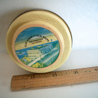 Vintage San Francisco Tin Souvenir Cliff House Seal Rock Some Wear 2 And 5/8 Inches X 1 And 1/4 Inches