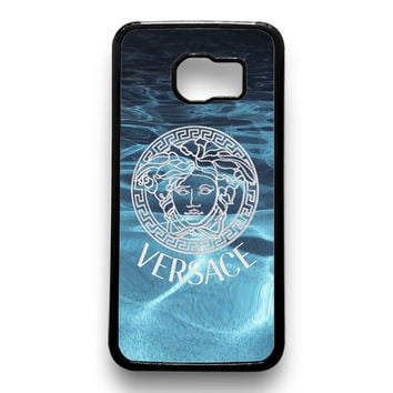 Versace logo on water Samsung Galaxy S6 Case
