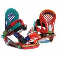 Ride EX Snowboard Bindings Franken 2013 - Mens