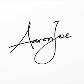 AARONJOE SIGNATURE LAPTOP SKIN