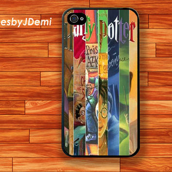 Harry Potter books iPhone 4 /4S case, iPhone 5 /5c/ 5s, Samsung Galaxy S3/S4 case, Samsung Galaxy Note2, Samsung Galaxy Note 3 case, Potter