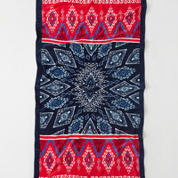 Womens Pattern Beach Towel | Womens Swimwear | Abercrombie.com