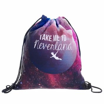 new 3D printing take me to neverland mini backpack