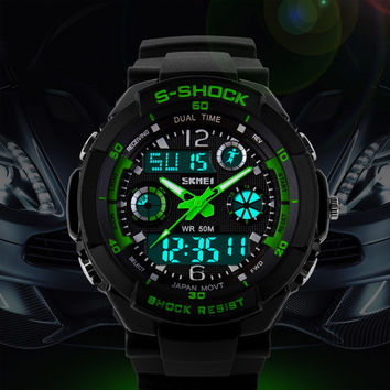 Military Sports Watch S-Shock