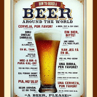 Fathers Day, Fathers Day Gift, Metal Beer Sign, Beer Hops, Hops Beer, Beer Art, Beer Wall Art, Bar Sign, Bar Decor Metal Wall Art Beer Decor