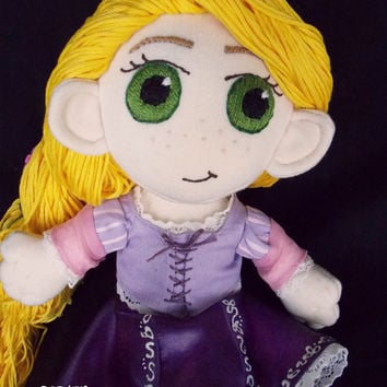 Disney Rapunzel Tangled Plush Doll Plushie Toy Ragdoll