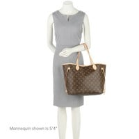 Louis Vuitton Neverfull Mm Shoulder Bag Made In France Excellent Condition FREE Fast Shipping